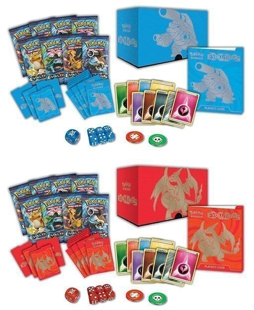 NEW SET!!! Pre-Order Pokemon Cards XY Evolutions Elite