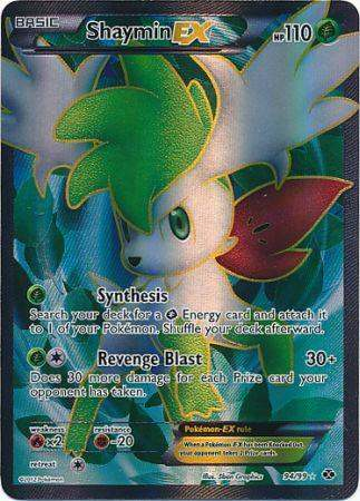 Silver pokemon card