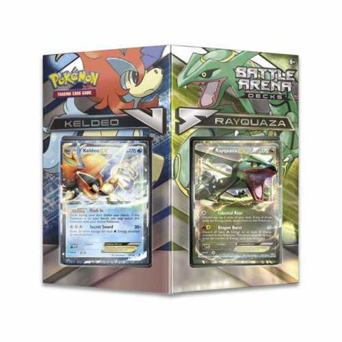 Battle Arena Decks Rayquaza vs. Keldeo
