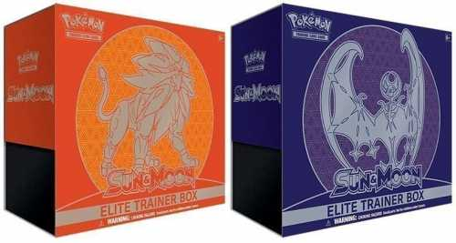 Pokemon Sun & Moon Elite Trainer Box