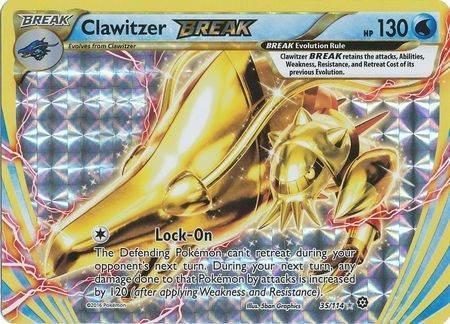 Clawitzer Break – 35/114 – Break Rare