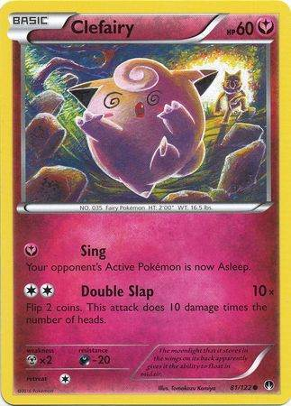 BREAKpoint 82//122 Rare 4 x Clefable