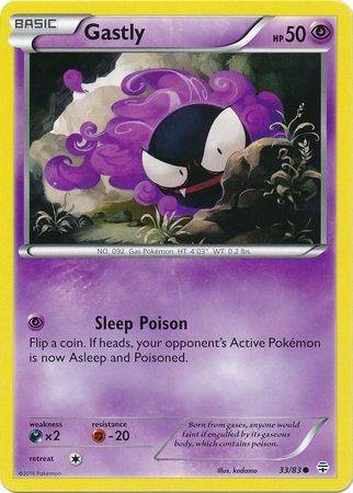 Gastly – 33/83 – Common