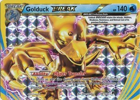 Golduck Break – 18/122 – Break Rare