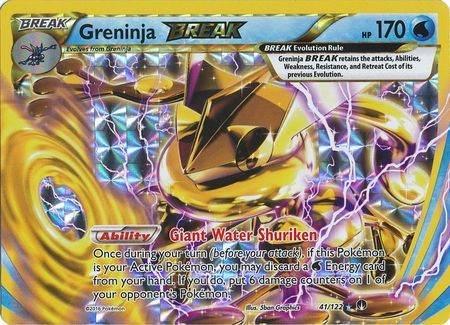 Greninja Break – 41/122 – Break Rare