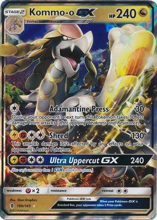 Kommo-o GX – 100/145 – Ultra Rare