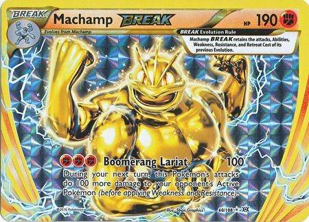 Machamp Break – 60/108 – Break Rare
