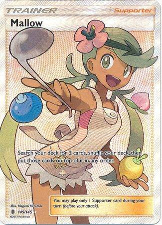 Mallow – 145/145 – Full Art Ultra Rare