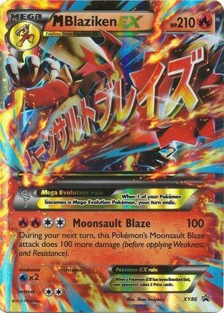 Mega M Blaziken EX – XY86 – Ultra Rare Promo