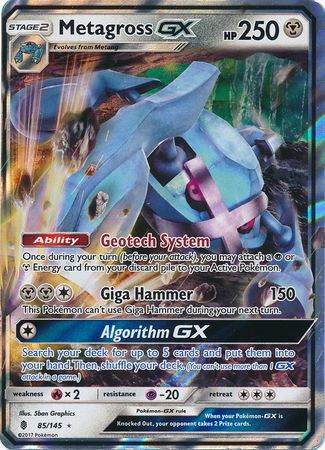 Metagross GX – 85/145 – Ultra Rare
