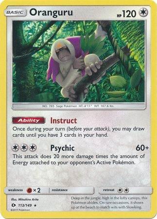 Oranguru – 113/149 – Holo Rare