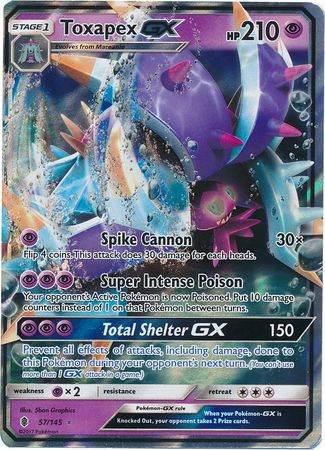 Toxapex GX – 57/145 – Ultra Rare