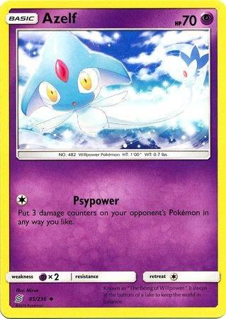 Azelf – 85/236 – Uncommon – Pokemon Card