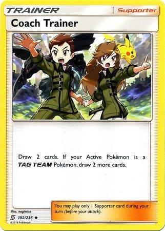 Coach Trainer – 192/236 – Uncommon – Pokemon Card