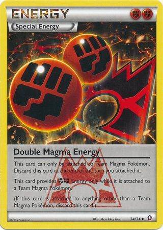 Double Magma Energy – 34/34 – Uncommon