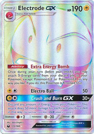 Electrode GX – 172/168 – Hyper Rare