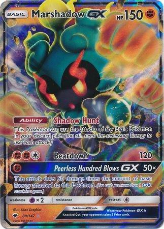 Marshadow GX – 80/147 – Ultra Rare
