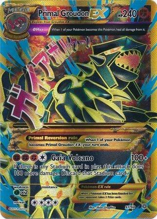 Primal Groudon EX – 97/98 – Ultra Rare