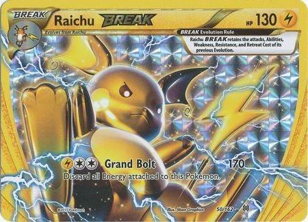 Raichu Break – 50/162 – Break Rare