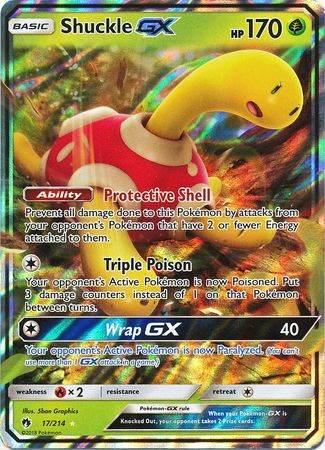 Shuckle GX – 17/214 – Ultra Rare