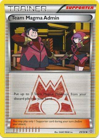 Team Magma Admin – 29/34 – Uncommon
