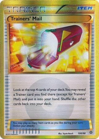 Trainers' Mail – 100/98 – Secret Rare