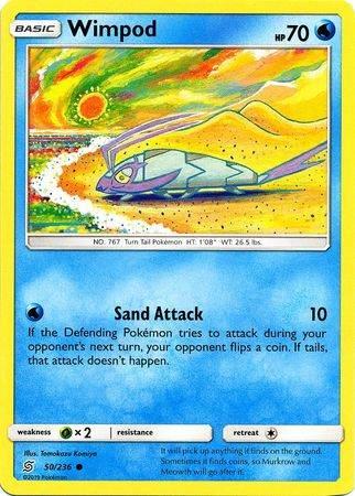 Wimpod – 50/236 – Common – Pokemon Card