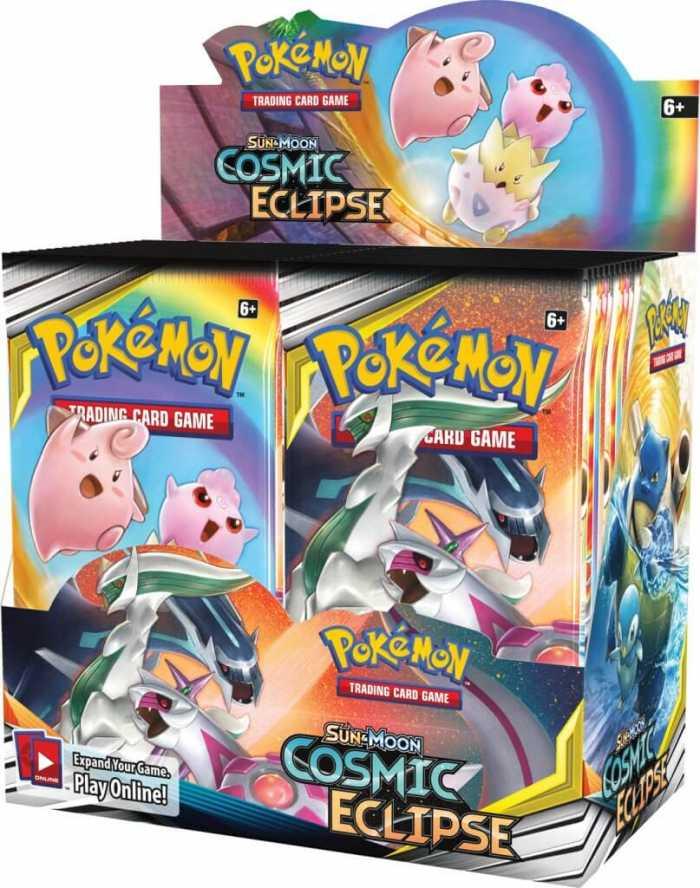 Cosmic Eclipse Booster box – Pokemon Cards