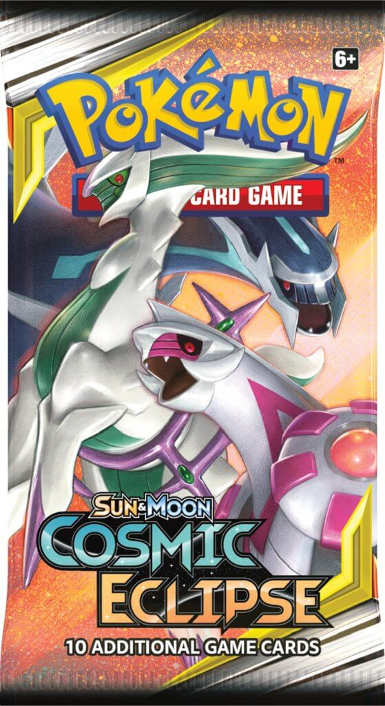 POKEMON TCG Cosmic Eclipse Booster Pack