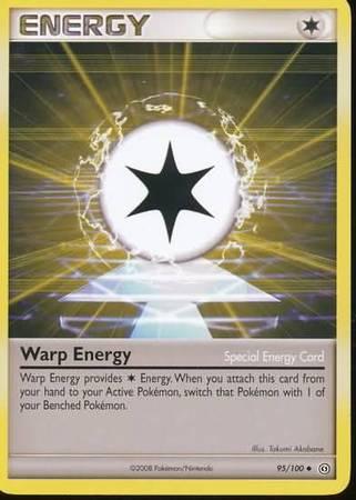 Warp Energy – 95/100 – Uncommon