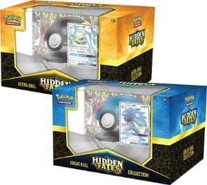 Pokemon ultra ball and great ball collection boxes