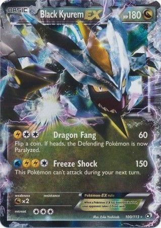 Black Kyurem EX – 100/113 – Ultra Rare