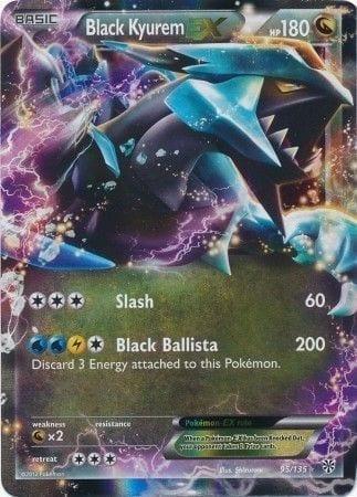 Black Kyurem EX – 95/135 – Ultra Rare