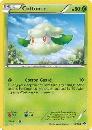 Cottonee – 10/98 – Common