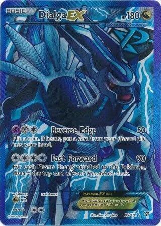 Dialga EX – 99/101 – Full Art Ultra Rare