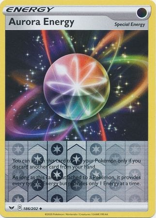 Aurora Energy – 186/202 – Uncommon Reverse Holo