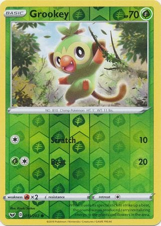 Grookey – 11/202 – Common Reverse Holo