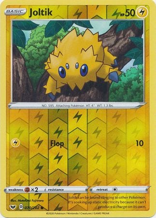 Joltik – 70/202 – Common Reverse Holo