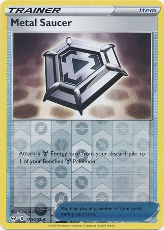 Metal Saucer – 170/202 – Uncommon Reverse Holo