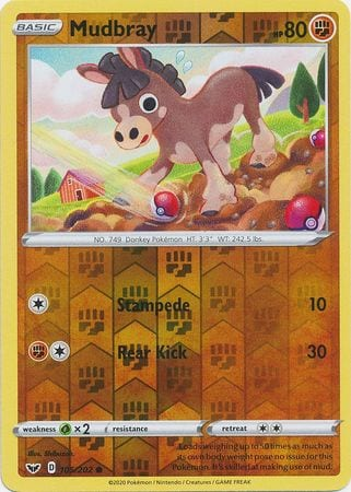 Mudbray – 105/202 – Common Reverse Holo