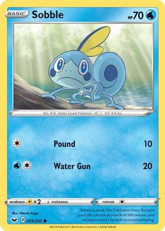Sobble – 055/202 – Holo Common
